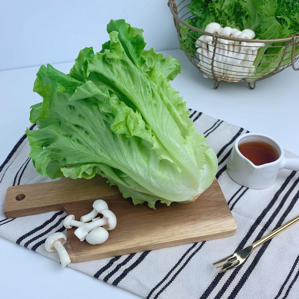 綠脆捲萵苣