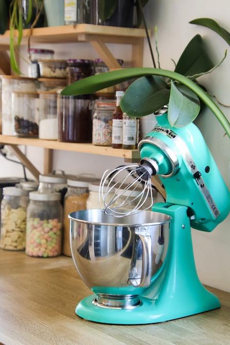 桌上型攪拌機示意圖