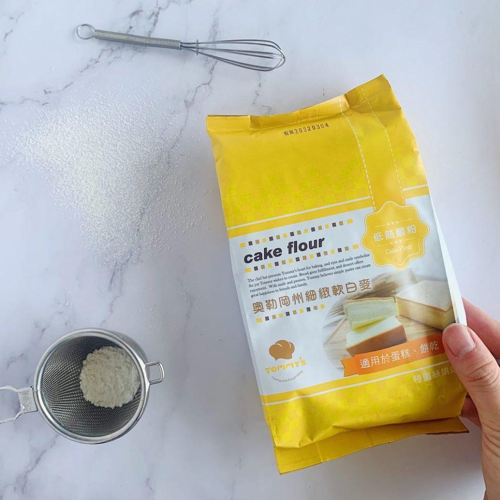 奧勒岡州細緻軟白麥 低筋麵粉 外觀